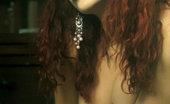 Erotic Beauty Monika E Natasha Schon Presenting Monika Redhead Debutante In Arousing And Super Seductive Poses.