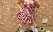 Spunky Angels Angel Angels Looking Naughty In A Little Schoolgirl Outfit Angelnaughtyschoolgirlnn