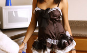 Spunky Angels Rachel Rachel Shows Off Her Tight Round Ass In Her Lil Maid Outfit Rachelyoursexymaidnn
