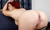 Spunky Angels Jaye Rose 190090 Jaye Rose Bends Over And Shows Her Tight Pink Freshly Shaven Pussy Jayerose-Redwithwhitestockings