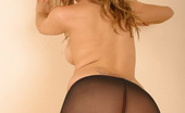 Spunky Angels Marylin Sexy Teen Marylin Almost Shows Her Tight Pussy Through Her Nylons Marylinnylons