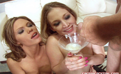 Sperm Cocktail Starla & Natalie Sky Cum Drinking Sluts In Action With These Hot Photos
