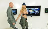 Big Tits In Uniform Julia Ann Tits Are Always The Solution Julia Is A Commander Pilot Who Is Briefing Johnny, A Rookie Pilot, On His New Mission. She Notices T...