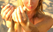 Body In Min Hayley Marie Coppin In The Sand