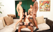 Gang Bang Squad Amy Starz 194942 Amy Starz Is One Sexy Barely Legal Brunette With A Tight Body And Even Tighter Pussy...But Not For Long! We Bring In Our Squad Of Big Black-Dicked Gang Bangers To Pound Amy'S Poor Pussy And Assault Her Asshole With Their Beefy Nightsticks, Stretching This