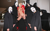 Gang Bang Squad Jasmine Rouge 195071 Trick Or Treat? Only Here Will You Get Both! The Treat Is A Devilish Snatch With Ripe Melons And Candy Dishes Just Dying To Get Filled Up With Sweet Man Meat! And The Trick, Is How She Gets 5 Loads Of Cum!