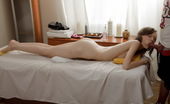 Tricky Masseur 195389 Our Sexually Obsessed Masseur Likes Teen Butts So Much That He Cannot Resist The Temptation To Take Off Panties From His Customer And Massage Her Back, Legs And Beautiful Booty. Massage Oil Helps His Hands To Slide And Arouse Demida So Much That She Gives
