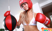 Sabrina Blond Naked 18yo Teen Sabrinka Blond Boxing In Gym