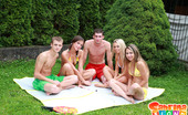 Sabrina Blond Outdoor Fuck Party With Sabrina Blond & Little Caprice