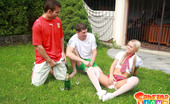 Sabrina Blond Sabrina Blond Getting Double Penetrated Outdoors