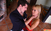Sabrina Blond Hand-Cuffed Sabrina Gets Spanked And Ass-Fucked