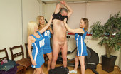 Pure CFNM Gorgeous School Girls Bribe The Referee With A Joint Handjob