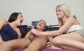 Pure CFNM Two Girls Catch Cute Young Boy Wanking And Decide To Give Him A Hand
