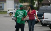 Shady P.I. Tara Hot Chick Cheats On Her Husband With Black Dude!