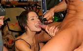 Drunk Sex Orgy Gallery Th 39664 T Upside Down Caged Slut Pops A Rock Hard Cock In Her Mouth
