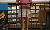 Skye Model Skye Lets Her Friend Take Upskirt Pictures Of Her While Shes Out Shopping