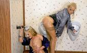 Slime Wave Zuzana Z Hot Blonde Lesbian Babes Getting Sprayed With Fake Jizz