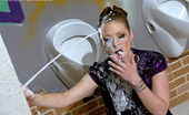 Slime Wave Gallery Th 40963 T 197910 A Clothed Willing Sweetheart Drinking Fake Toilet Spunk