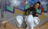 Slime Wave Gallery Th 41142 T 197912 Sexy And Clothed Sweetheart Covered In Wet Slippery Slime
