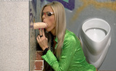 Slime Wave Mia Angel 197934 Clothed Sweetie Slurps Sticky Cum From Fake Plastic Penis