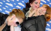 Slime Wave Tarra White Three Very Hot Lesbians Licking The Weird Vibrator Sperm