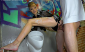 Slime Wave Gallery Th 45301 T Sexy Clothed Chick Fucking A Horny Guy In A Public Toilet