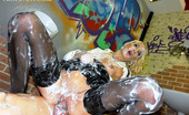 Slime Wave Gallery Th 45630 T Crazy Oiled Up Sweetie Sucking And Fucking Solid Pecker