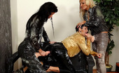 Slime Wave Jenna Lovely Pretty Horny Chicks Pleasured By Jizzing Toys On A Couch