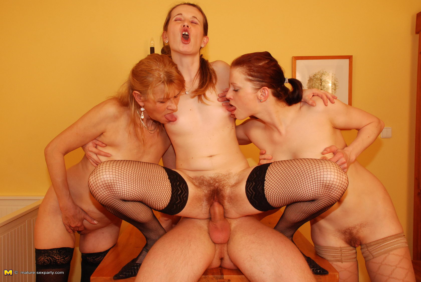Young Sex Parties Foursome