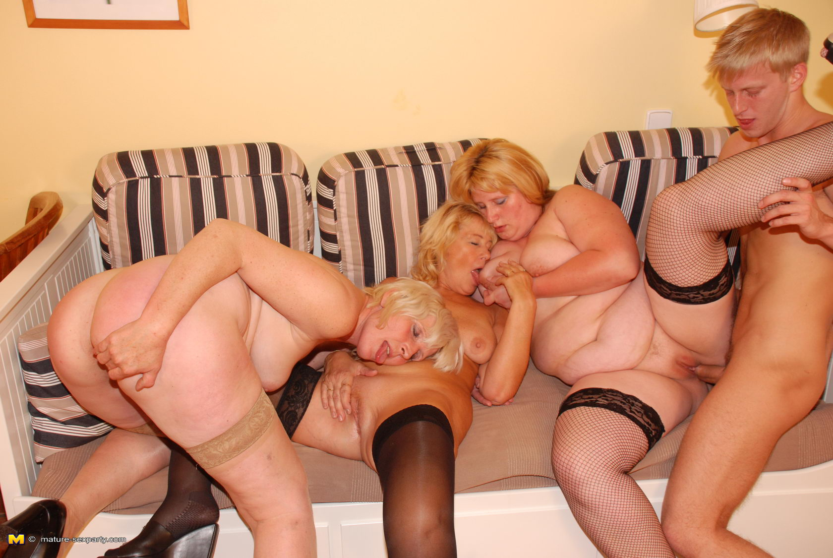 3 mature ladies in groups sex with younger guy part 3 9