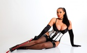 Just Danica Mistress Danica Cracks The Whip In Her Stockings And Corset