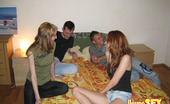 Young Sex Parties Teens Get Fucked Hard 200691 Naughty Hotties In Very Sex Appeal Clothes And Their Handsome Boyfriends Were Sitting Talking About Different Things When Suddenly They Felt Desire To Have Wild Foursome Fucking. Fellows Undress Cute Chicks Slowly, Get Their Big Dicks Masturbated And Suck
