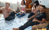 Young Sex Parties Babes Bound On Dicks Nothing Would Stop You From Having Fun Examining These Pics. Two Handsome Pals And Their Girlfriends Were Playing Cards When Suddenly They Felt Strong Temptation To Have Foursome Banging. Babes Play With Dicks By Mouths And Hands, Ride Up Fat Rods And Beg