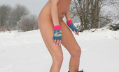 Just Nude Anna Russia Snowboard