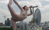 Just Nude Alina Russia Roof