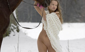 Just Nude Kristina Russia Horse