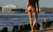 Just Nude Maria Russia Neva River
