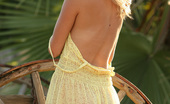 Nextdoor Models Barbie Nothing Is Better Than A See Thru Yellow Dress And A Pretty Blond Girl