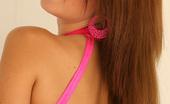 Nextdoor Models Chrissy Marie 202593 Chrissy Marie Peels Off Her Bright Pink 1 Piece Body Thong