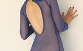 Nextdoor Models Kara Gray Kara Cant Hide Anything In This Sexy Sheer Dress