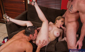 My Dad's Hot Girlfriend Kagney Linn Karter Kagney Linn Karter Takes Cock From Both Ends In A Hot Threesome!