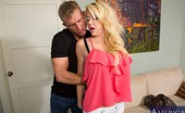 My Dad's Hot Girlfriend Courtney Taylor Gorgeous Blonde Babe Has Hot Sex With Her Boyfriends Son.