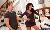 My Dad's Hot Girlfriend Capri Cavanni Sexy Brunette Capri Cavanni Has Hot Sex With Her Boyfriends Son.