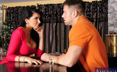 My Dad's Hot Girlfriend Romi Rain Gorgeous Babe Romi Rain Is Horny And Decides To Fuck Her Boyfriends Son And His Big Cock.
