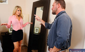 My Dad's Hot Girlfriend Capri Cavanni Alec Finds Capri In His Dad'S Bedroom. Alec Feels Jealous And Threatened Because His Dad Has Made His Girlfriend The VP Of The Company, Which Alec Is Supposed To Take Over. He Lets Her Know That In No Way Is She Going To Be The One To Take Over. Capr