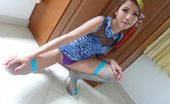 Thai Girls Wild Lamai Adorable Lamai Shows Off Her Round Ass And Pretty Shaved Pussy