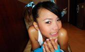 Thai Girls Wild Bum Adorable Thai Hottie Blows A White Cock And Gets A Giant Creampie
