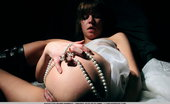 The Life Erotic Nastia D Pearls By Higinio Domingo The Plain, White Dress And Pearl Necklace Provide A Blank Canvass For Nastia'S Artistic And Arousing, Wide Open Poses, Masturbating Her Clean, Shaven Pussy, And Supple Breasts With Puffy Nipples.