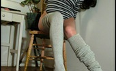 Tasty Trixie Long Thick Socks Seductive Brunette Trixie Loves Long Thick Socks & Showing Her Boobs.