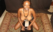 Real Orgasm Videos Busty Ebony Girl Orgasms While Riding On The Sybian